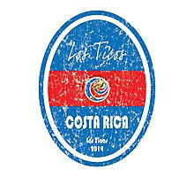 World Cup Football - Costa Rica Photographic Print