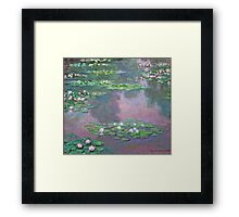 Claude Monet - Water Lilies 9 Framed Print