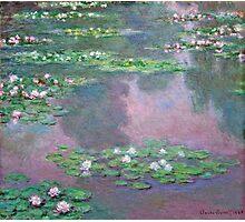 Claude Monet - Water Lilies 9 Photographic Print