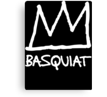 Basquiat Crown Canvas Print