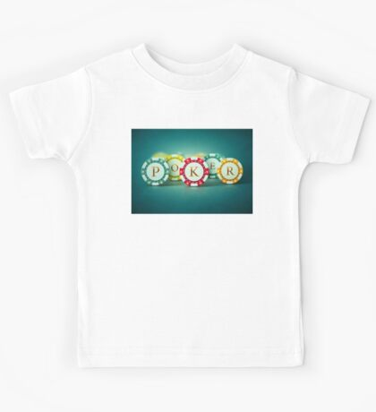 Poker chips  Kids Tee