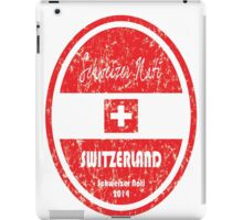 World Cup Football - Switzerland iPad Case/Skin
