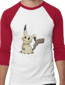 I mimik-yu Men's Baseball ¾ T-Shirt