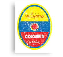 World Cup Football - Colombia Canvas Print