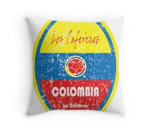 World Cup Football - Colombia Throw Pillow