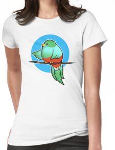 Cute Resplendent Quetzal Womens Fitted T-Shirt