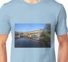 Knight's Ferry Covered Bridge Unisex T-Shirt