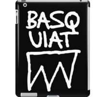 Basquiat Upside iPad Case/Skin