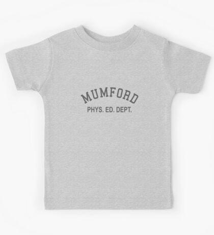 Mumford Phys Ed Dept Kids Tee