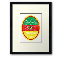 World Cup Football - Cameroon Framed Print