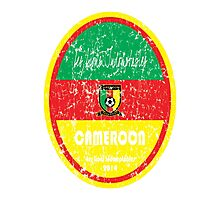 World Cup Football - Cameroon Photographic Print