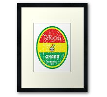 World Cup Football - Ghana Framed Print