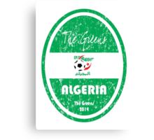 World Cup Football - Algeria Canvas Print