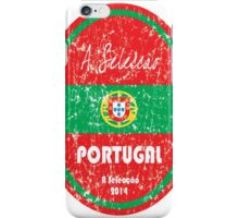 World Cup Football - Portugal iPhone Case/Skin