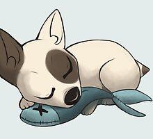 Sleepy Terrier by MasterSmidge