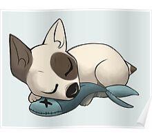 Sleepy Terrier Poster