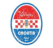 World Cup Football - Croatia Photographic Print