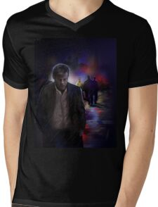 Greg Lestrade Mens V-Neck T-Shirt
