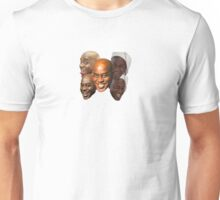 The Many Faces of Ainsley Harriott Unisex T-Shirt