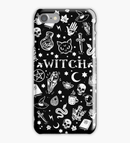 WITCH PATTERN 2 iPhone Case/Skin