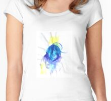Sapphire. Women's Fitted Scoop T-Shirt