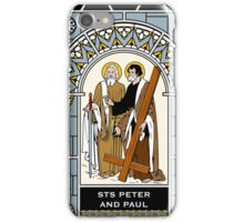 ST PETER AND ST PAUL under GLASS iPhone Case/Skin
