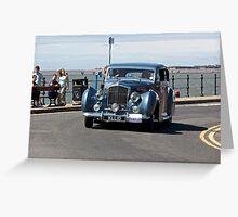 Vintage Bentley - West Kirby Car Rally - July 2014 Greeting Card