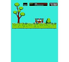 NES duck hunt dog game Photographic Print