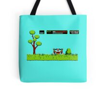 NES duck hunt dog game Tote Bag