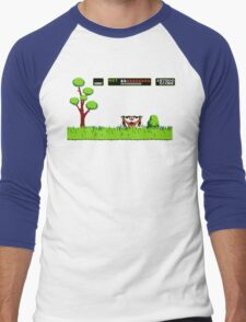 NES duck hunt dog game Men's Baseball ¾ T-Shirt
