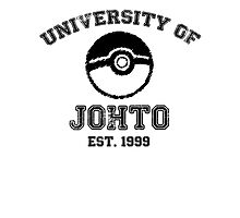 University of Johto Photographic Print