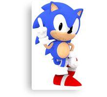 Sonic the Hedgehog - Polygon Canvas Print
