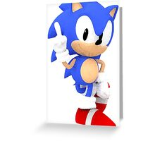Sonic the Hedgehog - Polygon Greeting Card