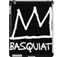 Basquiat Crown iPad Case/Skin