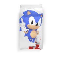 Sonic the Hedgehog - Polygon Duvet Cover