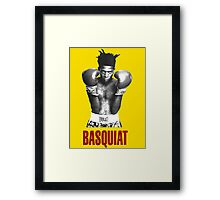 Jean Michel Basquiat Boxing Framed Print