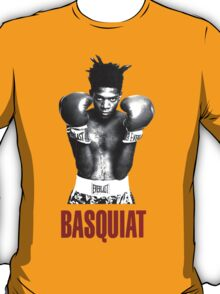 Jean Michel Basquiat Boxing T-Shirt