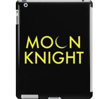Moon Knight Comic Font iPad Case/Skin