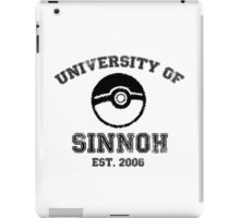 University of Sinnoh iPad Case/Skin
