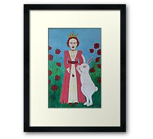 PQR Queen 2 Framed Print