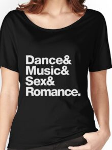 Prince Party Rules: Dance Music S3X Romance DMSR Women's Relaxed Fit T-Shirt