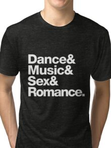 Prince Party Rules: Dance Music S3X Romance DMSR Tri-blend T-Shirt