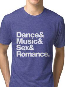 Prince Party Rules: Dance Music S3X Romance DMSR Tri-blend T-Shirt