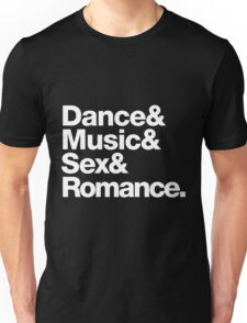 Prince Party Rules: Dance Music S3X Romance DMSR Unisex T-Shirt