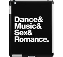 Prince Party Rules: Dance Music S3X Romance DMSR iPad Case/Skin