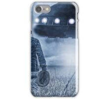 Alien Invasion Cyberpunk Version iPhone Case/Skin