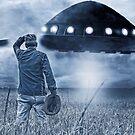Alien Invasion Cyberpunk Version by Edward Fielding