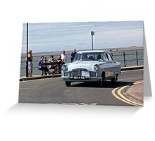 Ford Zephyr - Taken in West Kirby - July 2014 Greeting Card