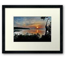 Sunrise on Vancouver Island,  Framed Print