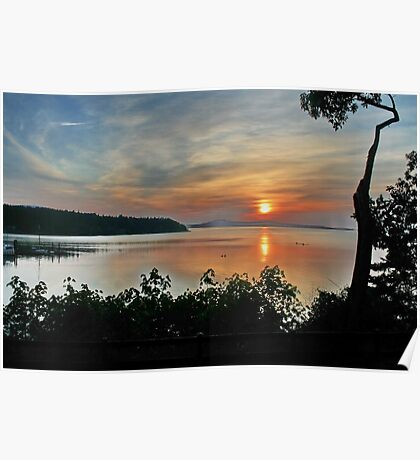 Sunrise on Vancouver Island,  Poster